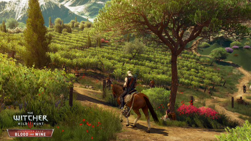 the Witcher 3 - Blood & Wine - screen 5
