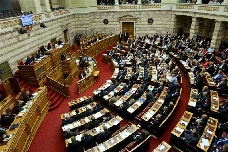 Griekse parlement stemt weer over belasting