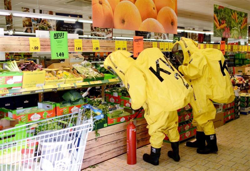 Spin zorgt voor paniek in supermarkt