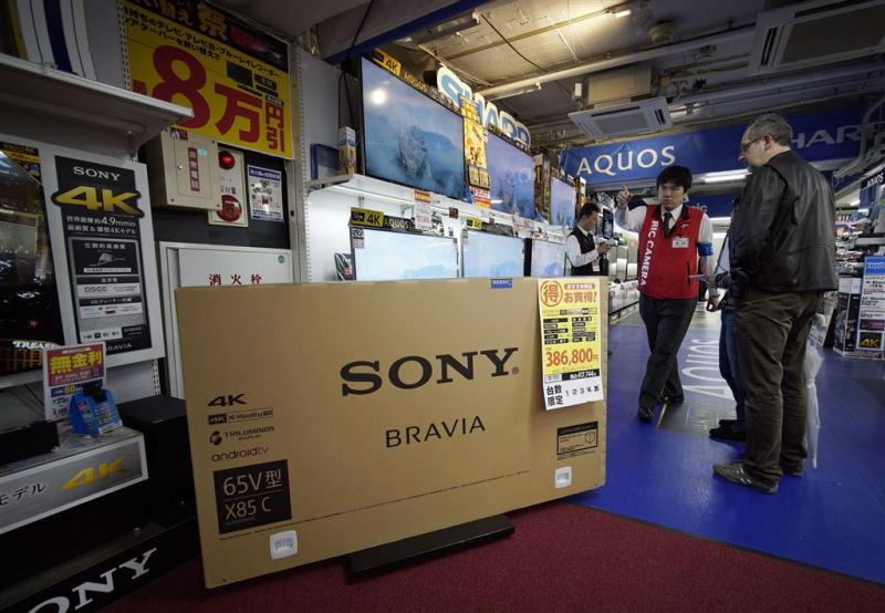 Natuurgeweld zit Sony dwars