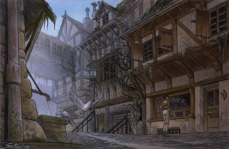 Syberia III - screens en art - 3