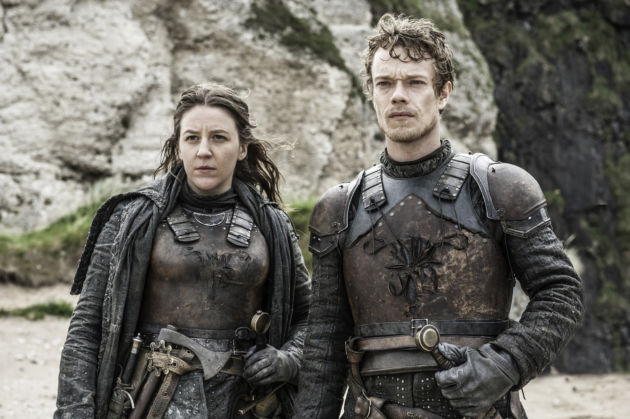 Game of Thrones 6X05 Yara en Theon