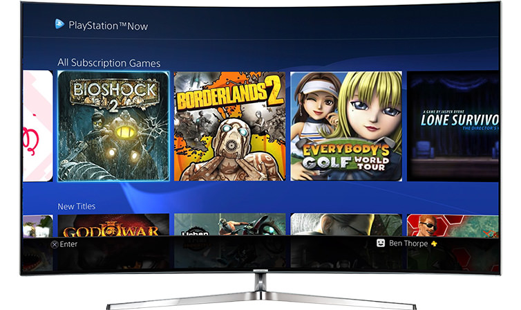 PlayStation Now (Foto: Sony)