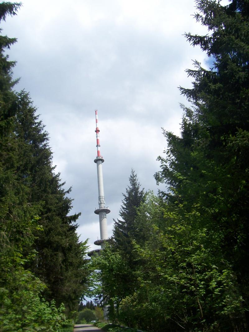 zendmast in het Sauerland (Foto: qltel)