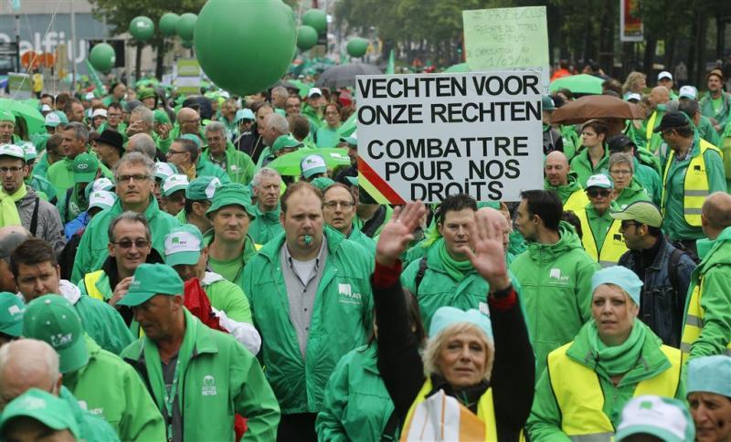 Veel overlast op rustige stakingsdag België