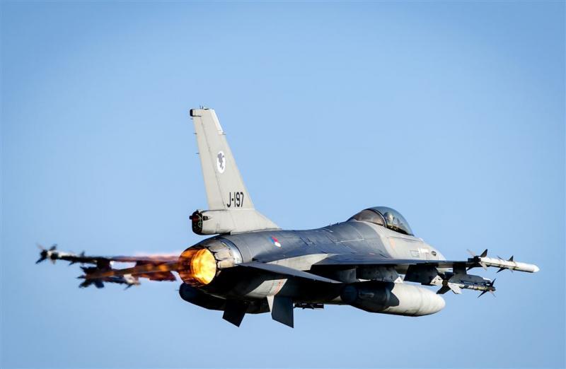 F-16 crasht na vliegshow in Colorado