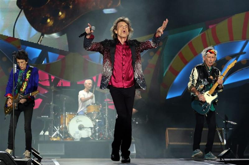 'Rolling Stones studio in met Eric Clapton'