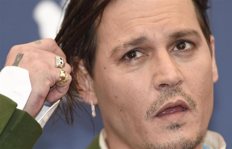 'Johnny Depp in adresboek hoerenmadam'