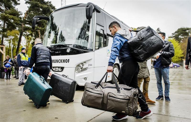 Huisvesting asielzoekers nog ver achter