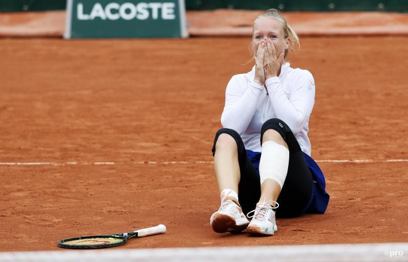 Bertens stunt met halve finale plaats Roland Garros.