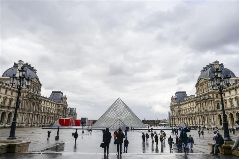 Louvre gaat uit voorzorg vrijdag dicht