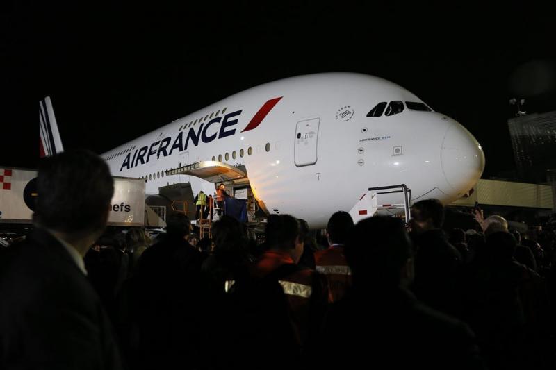 Pilotenbond roept op tot staking Air France