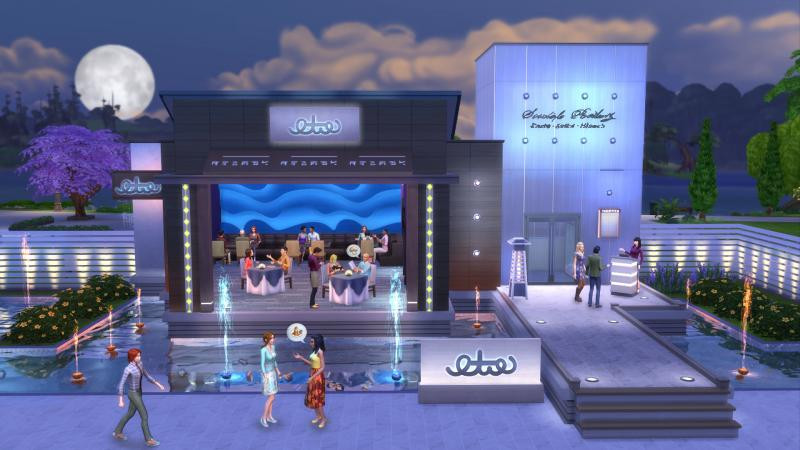 De Sims 4 Uit Eten (Foto: Electronic Arts)