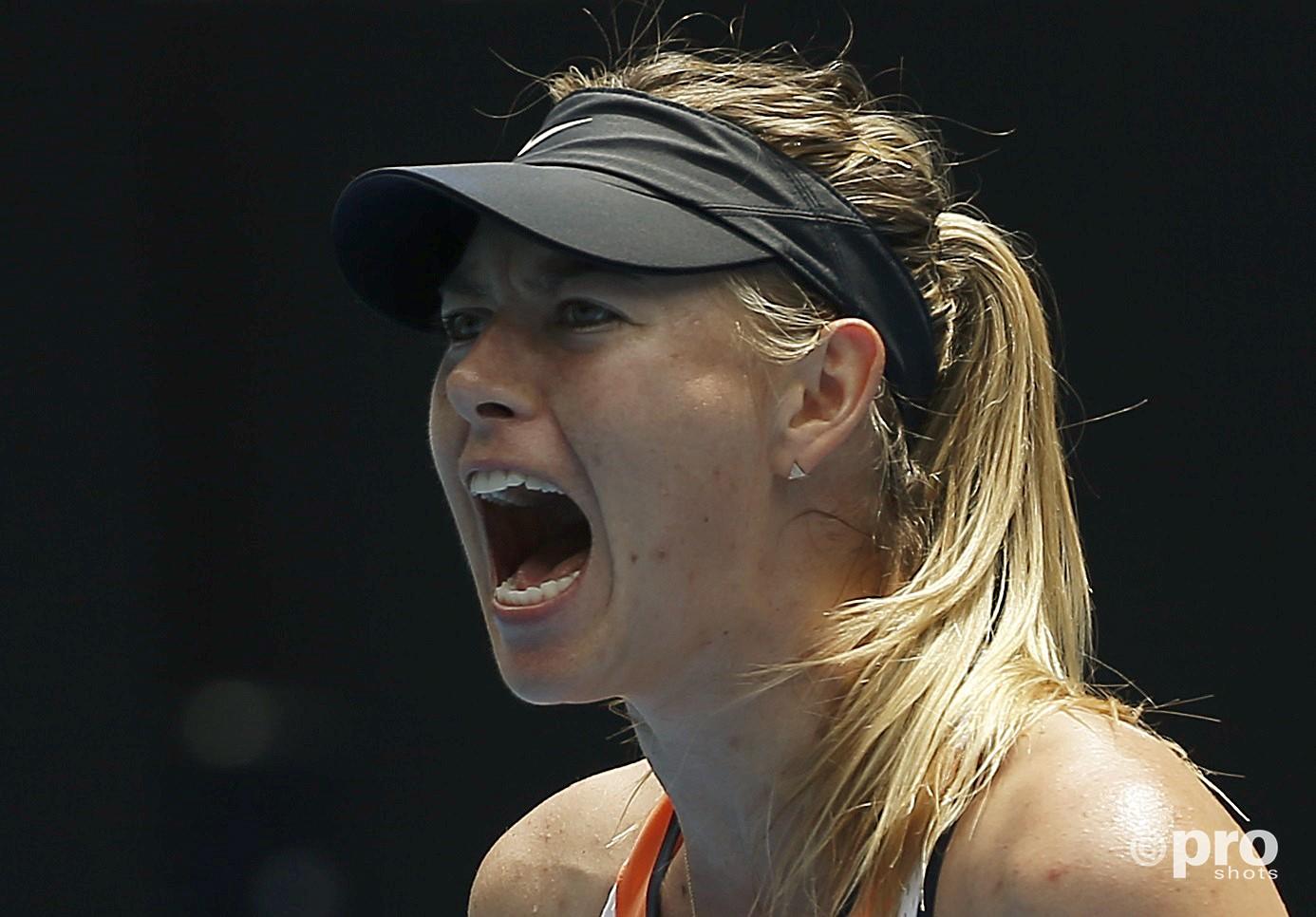 Sharapova reageerde vol frustratie op haar schorsing van twee jaar (PROSHOTS/Action Images)