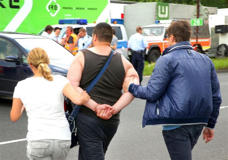 Brandstichters Düsseldorf 'wilden verandering'