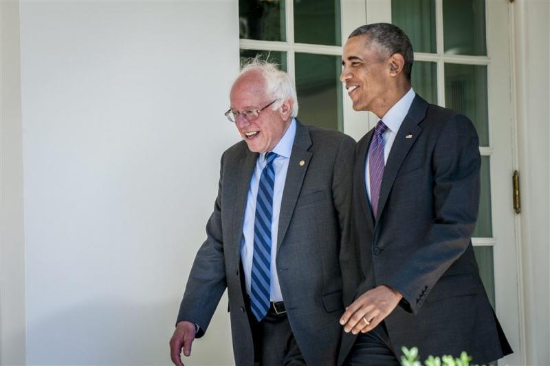 Sanders wil samenwerken met Clinton