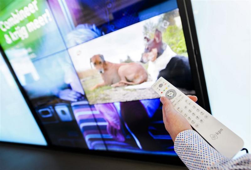 KPN wint verder terrein in krimpende tv-markt