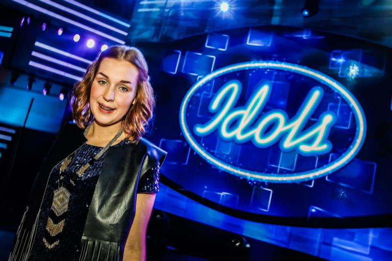 Nina den Hartog winnares Idols 2016