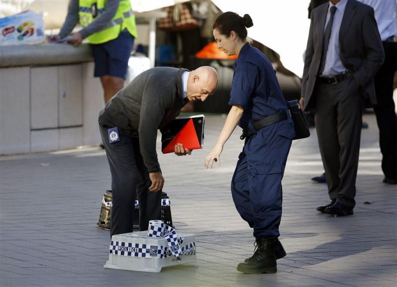 Publiek Sydney gewond door politiekogels