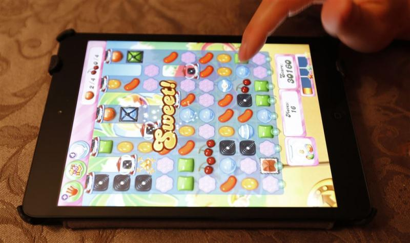 Candy Crush populairst op smartphone