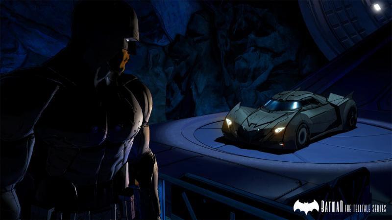 Telltale Games Batman Batmobile
