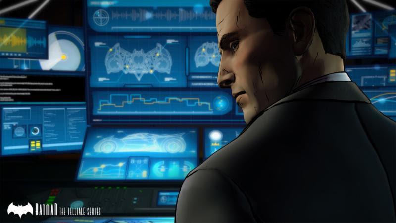 Telltale Games Batman Bruce