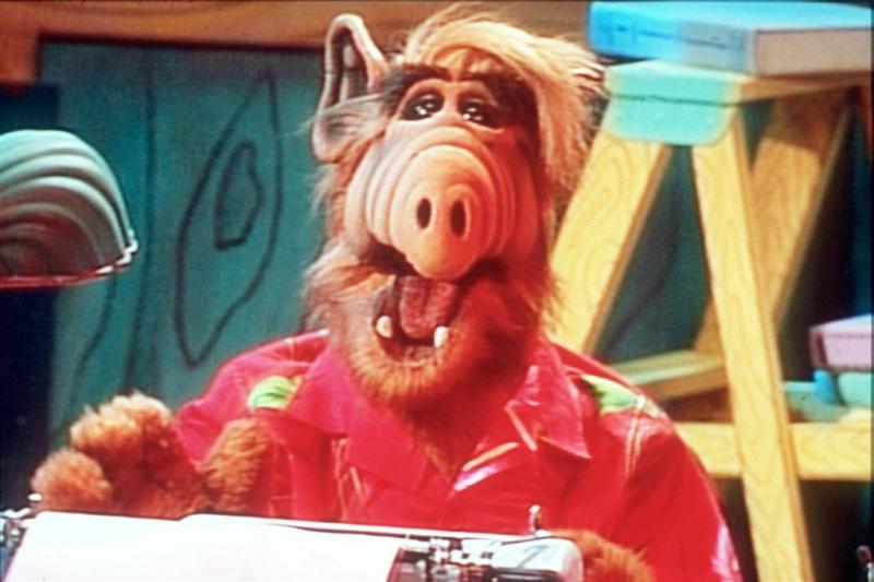 Alf-acteur in coma na beroerte
