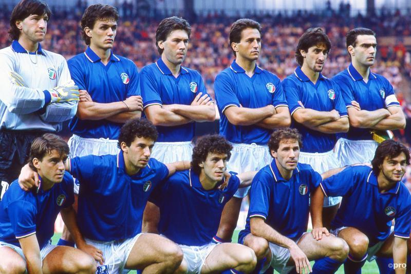 De sterk verjongde ploeg van Italië (Pro Shots / Jeroen van Bergen)