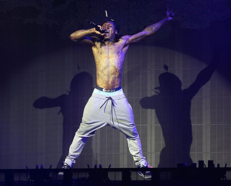 Lil Wayne maakt noodlanding