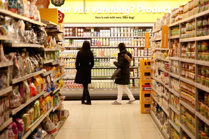 Omzet supermarkten flink omhoog