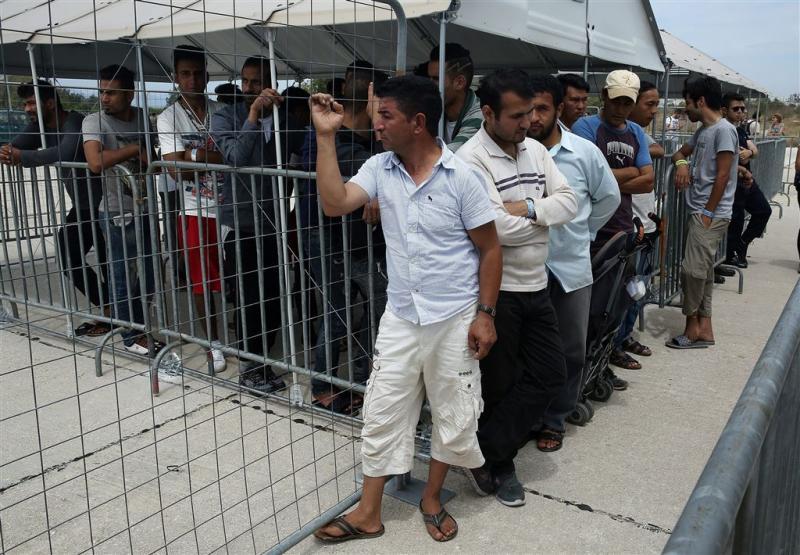 Vluchtelingenstroom via Griekenland slinkt