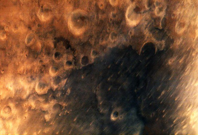 Bunnik is een krater op Mars