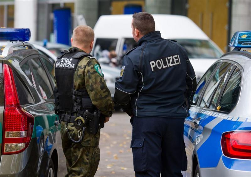 Duitse politie verscherpt grensbewaking