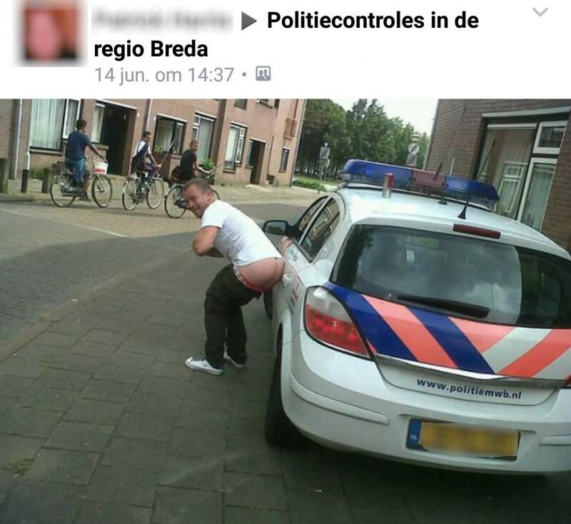Schijt aan de politie