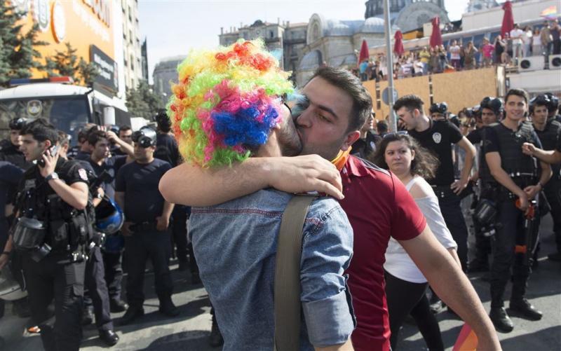 Istanbul verbiedt dit jaar Gay Pride