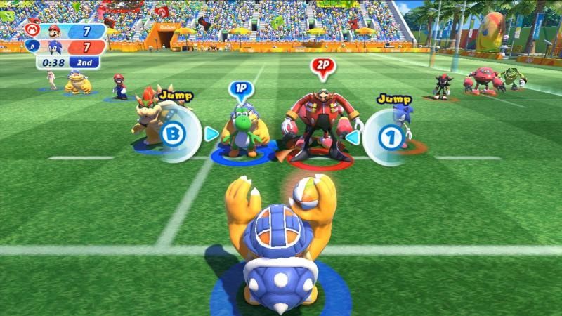 Mario & Sonic Wii U Rugby 7