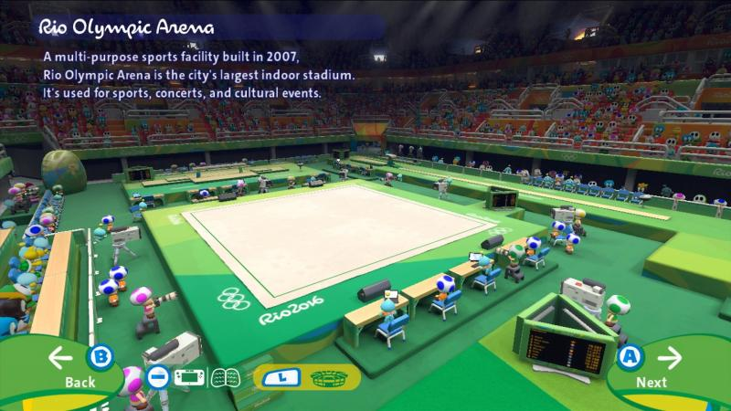 Mario & Sonic Wii U Olympic Arena
