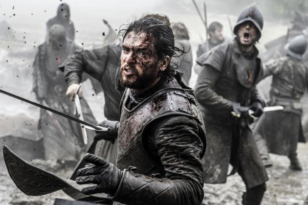 Game of Thrones 6X09 Jon Snow battle