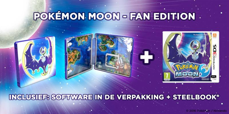 Pokemon Moon Fan-editie (Foto: Nintendo)