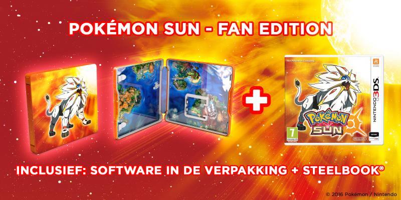 Pokemon Sun Fan-editie (Foto: Nintendo)