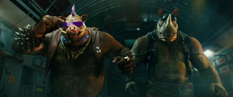 Ninja Turtles: Out of the Shadows: Bebop en Rocksteady