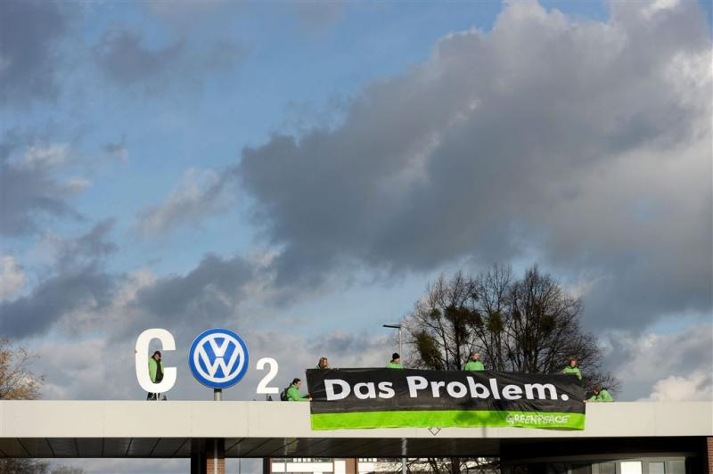 'Voorlopige miljardenschikking Volkswagen'