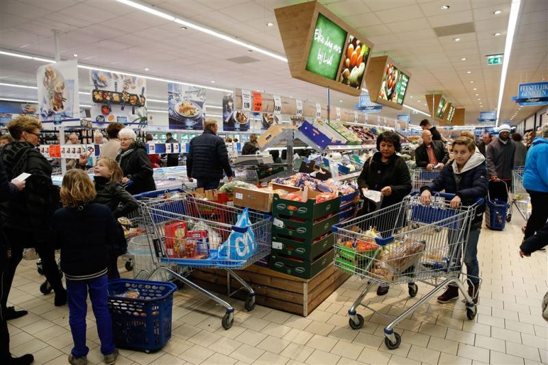 Supermarktomzet gestegen