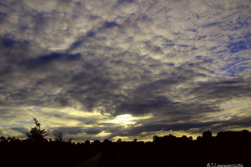 Lucht boven de Overkluisde Caumerbeek (Foto: Luuntje)