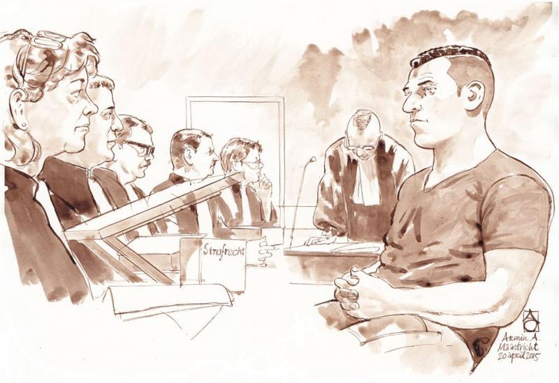 Loverboy weer voor rechter: enkelband 'kapot'