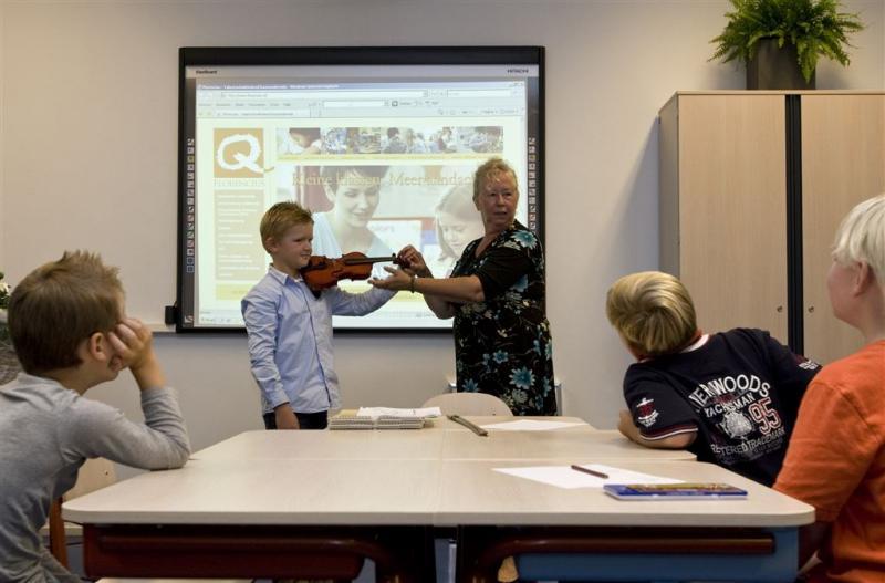 Scholen krijgen muziekles via het digibord