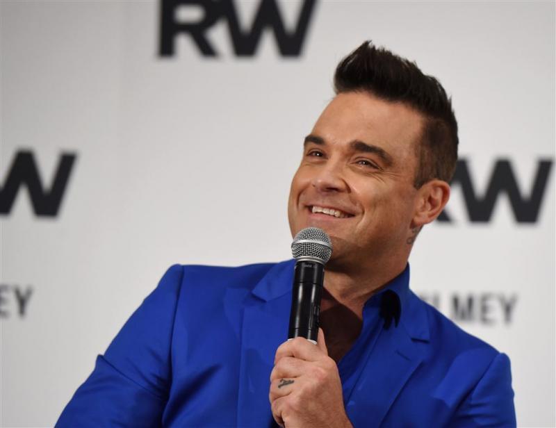 'Robbie Williams op album Take That'
