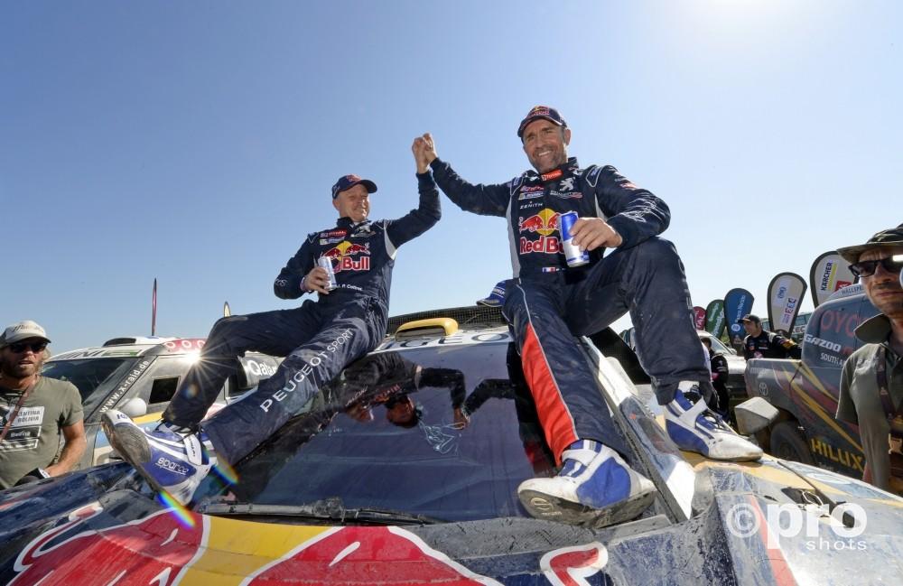 De zege van Peterhansel iz ijn 12e overwinning in de Dakar
