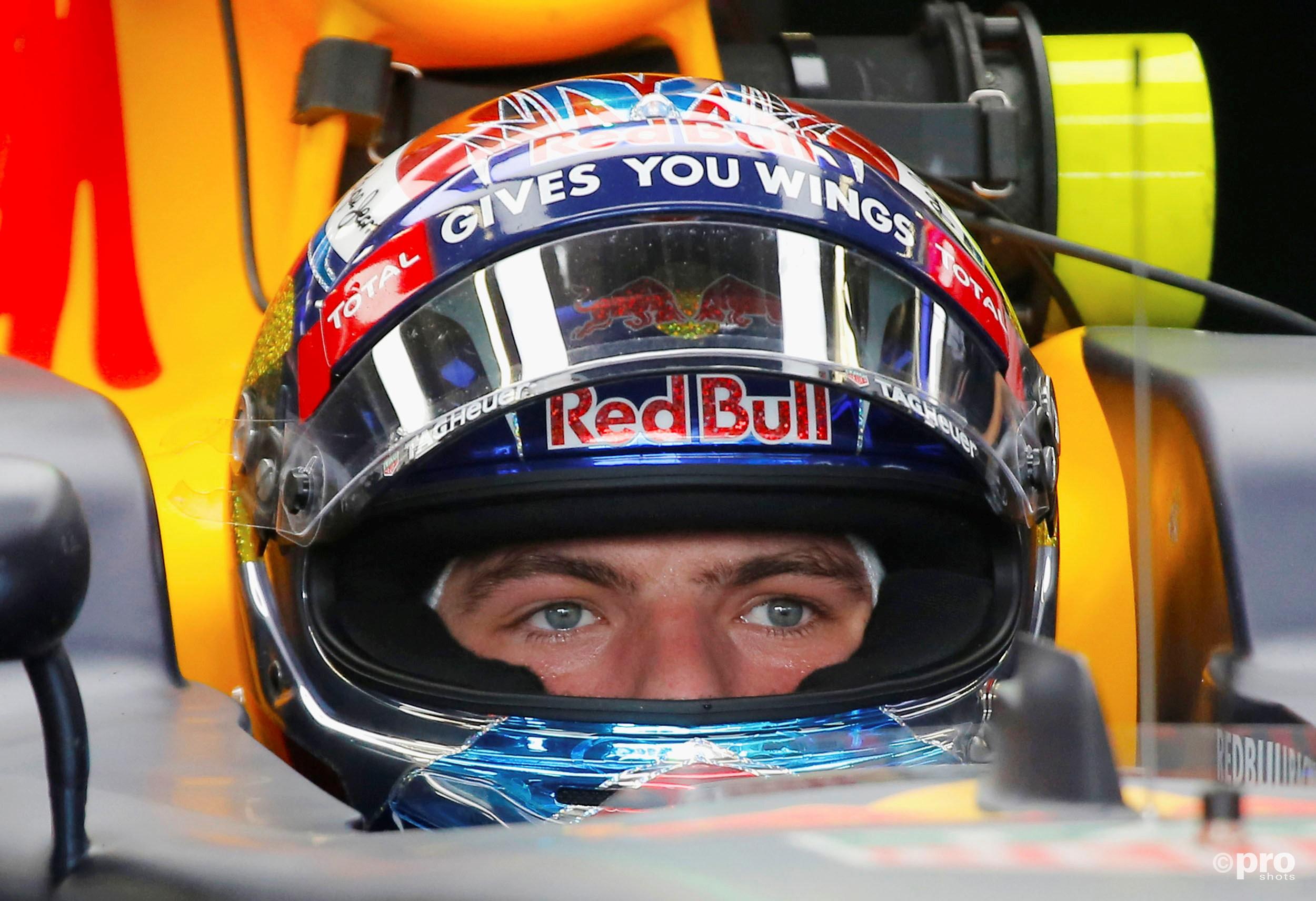 Verstappen kende een sterk weekeinde in Baku en finishte vlak achter zijn teamgenoot