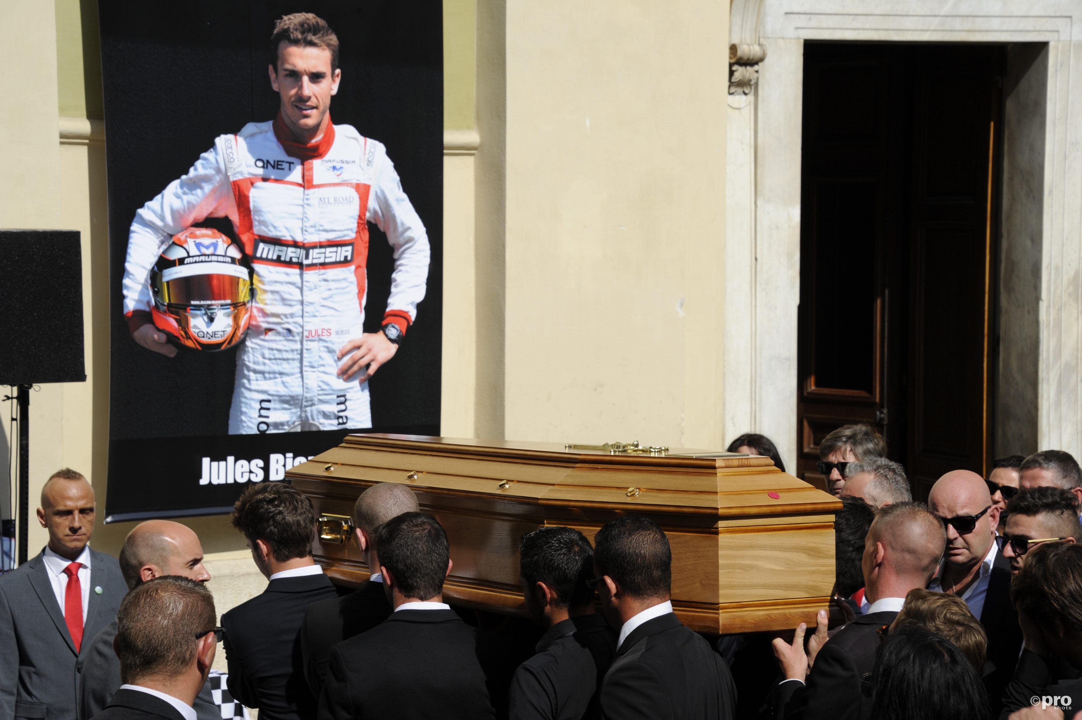 Bianchi kwam enkele maanden na zijn ongeluk te overlijden
